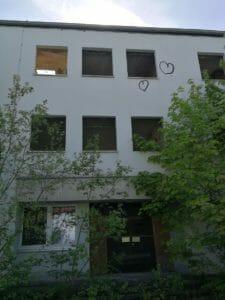 Eingang 1. Kompanie