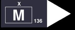 M136 Logo